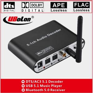 Audio-Decoder-Converter DAC Gear Music-Player Optical Bluetooth Digital SPDIF DTS AC3