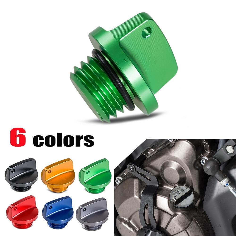 CNC de relleno de aceite tapón para Kawasaki Z650 Z800 Z900RS Z1000 ... 55cb0f6f420