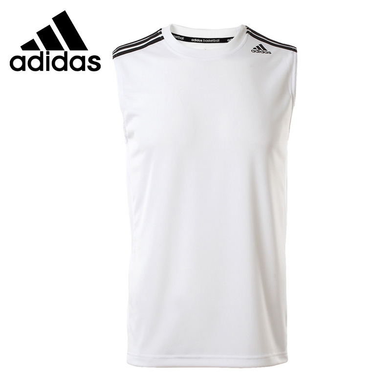 Original New Arrival 2018 Adidas Men's T-shirts Sleeveless Sportswear