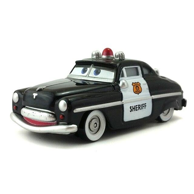 Disney Pixar Cars Sheriff 1 55 Diecast Metal Alloy Toy Car Model