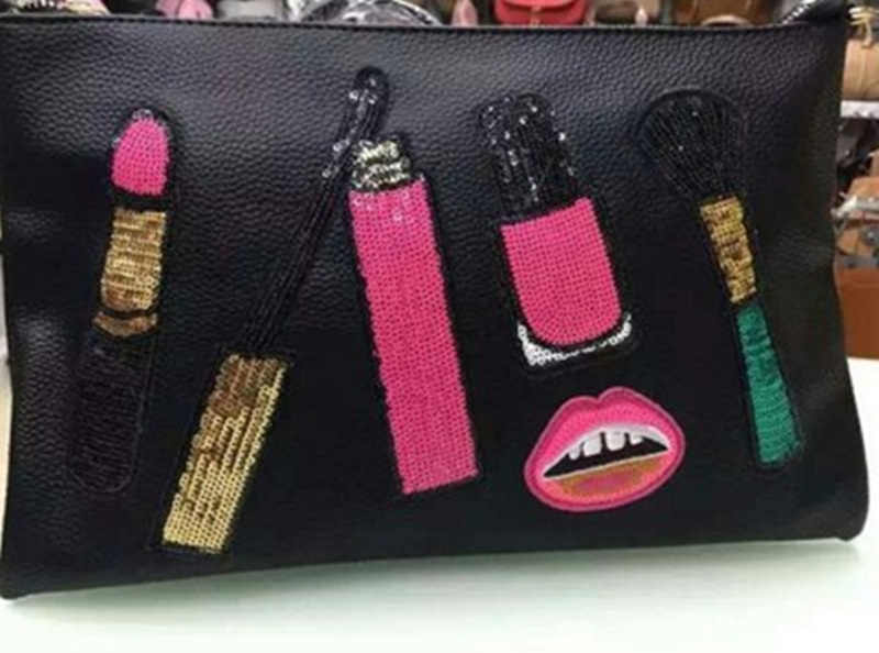 Detail feedback questions about lipstick makeup brush sequins sew on