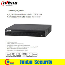 Dahua XVR XVR5104HS XVR5108HS XVR5116HS P2P video recorder Support HDCVI/AHD/TVI/CVBS/IP video inputs each channel up 5MP