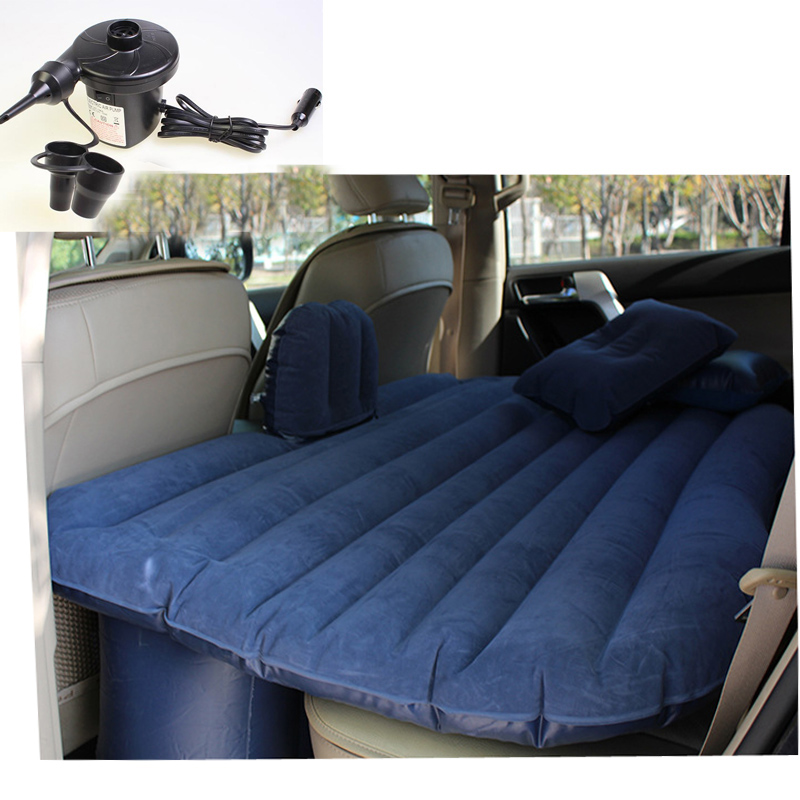 Portable Inflatable Travel Holiday Camping Car Seat Sleep Rest