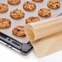 Горячая 60*40 см кухонные принадлежности для выпечки термостойкость брезент для выпечки тефлон не Противоскользящий коврик Microwav