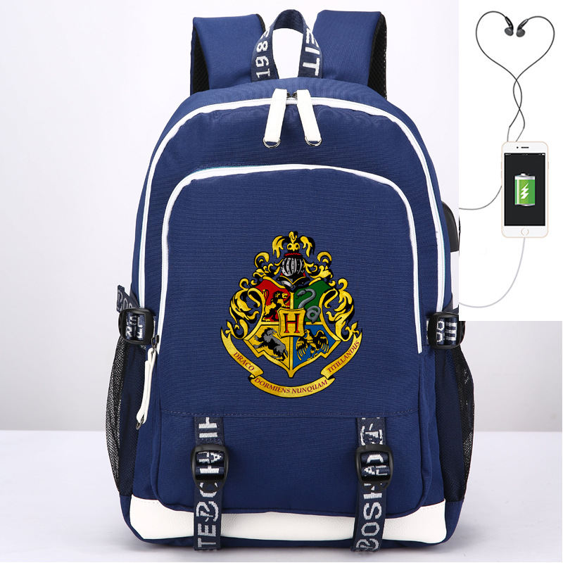 Dolls & Stuffed Toys Conscientious 44cm Harri Potter Hermione Hogwarts Model Toys Usb Backpack Schoolbag Gryffindor Badge Gift For Children Plush Backpacks