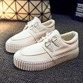 Женщины толстой подошве холст обувь открытый низкие верхние плоские туфли эспадрильи zapatillas зашнуровать повседневная обувь chaussure femme XK081609