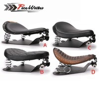 Motorcycle Solo Seat Baseplate & Springs & Bracket Mounting Kit for Sportster XL 883 1200 Bobber Chopper