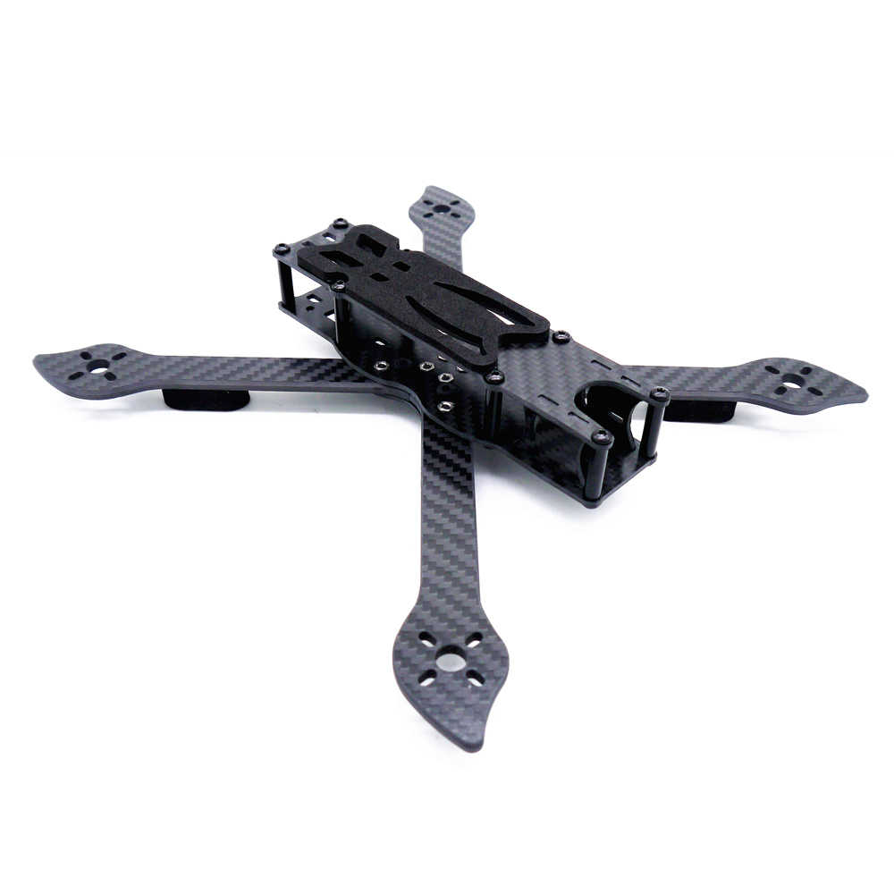"""Поскупились V2 True X 5 """"FPV рама для фристайла 235 235 мм с 4 мм небольшой гоночный Дрон с видом от первого лица Квадрокоптер с рамой, набор Лучше Nova 235"""