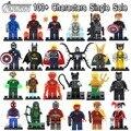 Venta única figura dc batman deadpool marvel super hero avengers iron man bloques huecos de ladrillos juguetes para niños