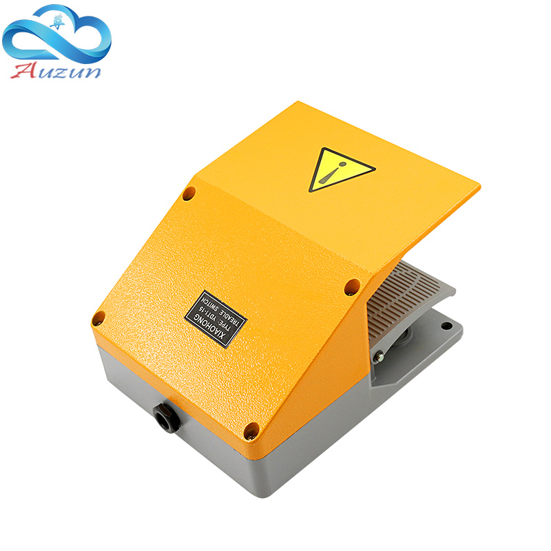 Foot switch YDT1-15 aluminum shell gray double pedal switch machine tool accessories switch цена
