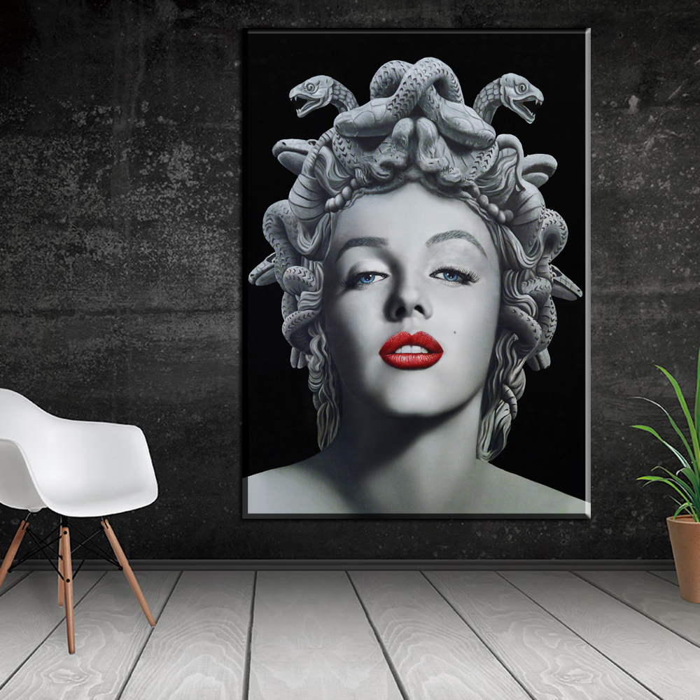 Art Marilyn Us 4 82 42 Off Wall Art Picture Prints Marilyn Monroe On Canvas Canvas Painting Home Decor Wall Poster Decoration For Living Room In Painting
