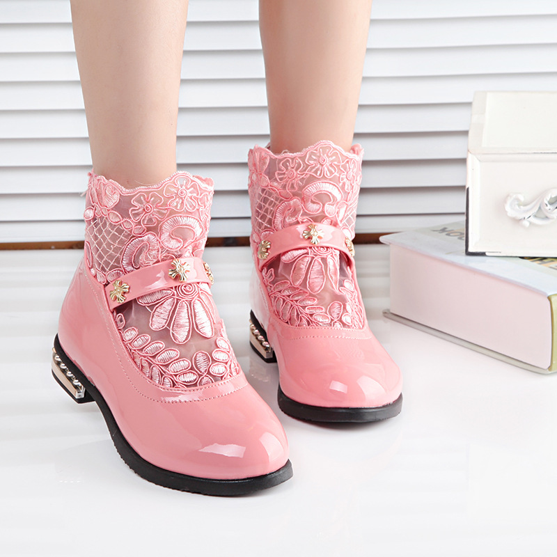 Popular Lace Boots for Girls-Buy Cheap Lace Boots for Girls lots ...