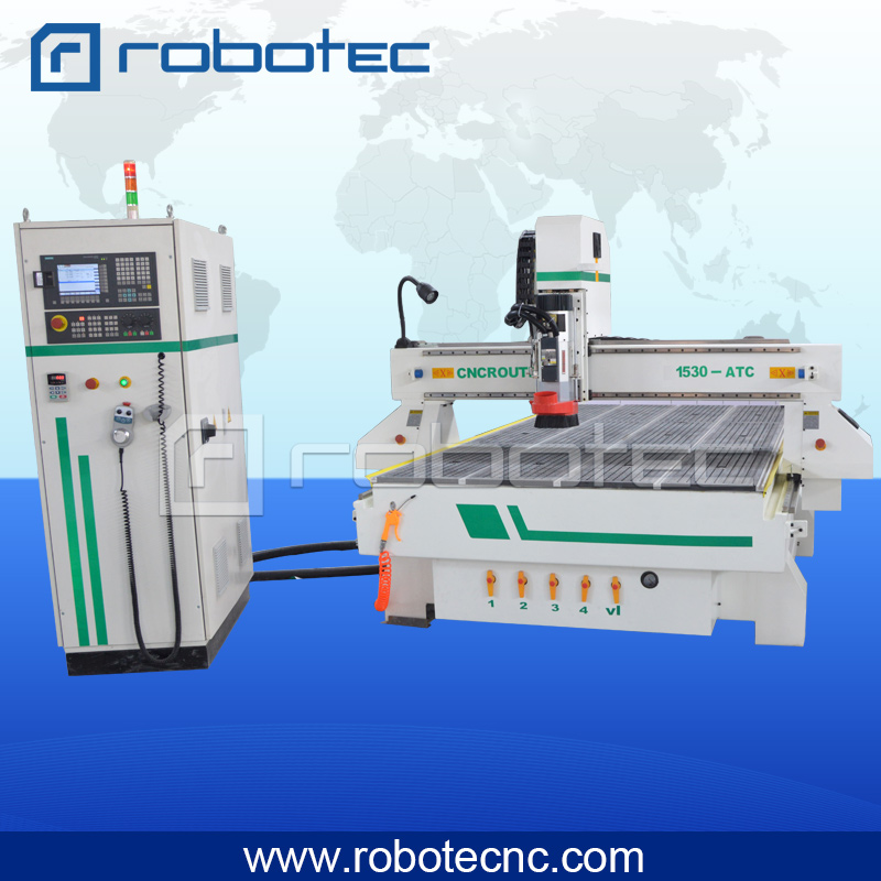 9.0kw HSD Spindle With Auto Tool Cahnge CNC Wood Working Machine
