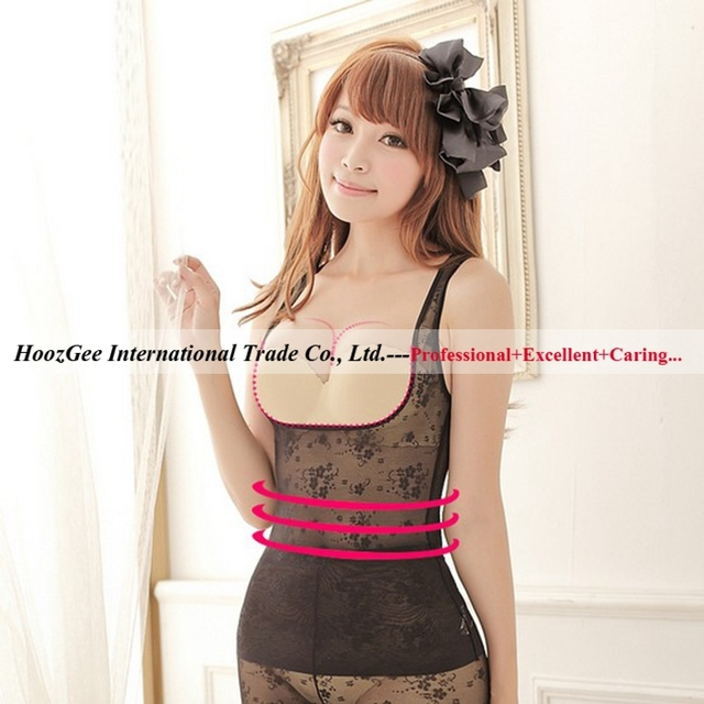 Mix Wholesale 5Pcs/Lot Feeling Touch Brand Net Fabric Vest Shaper Slimming Shaper Beauty Care Clothing Corset W057