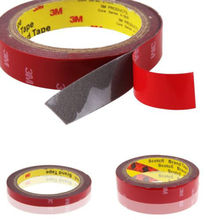 3mx10mm 1 Roll Automotive Acrylic Plus Double Sided Attachment Tape Car Auto Truck Van