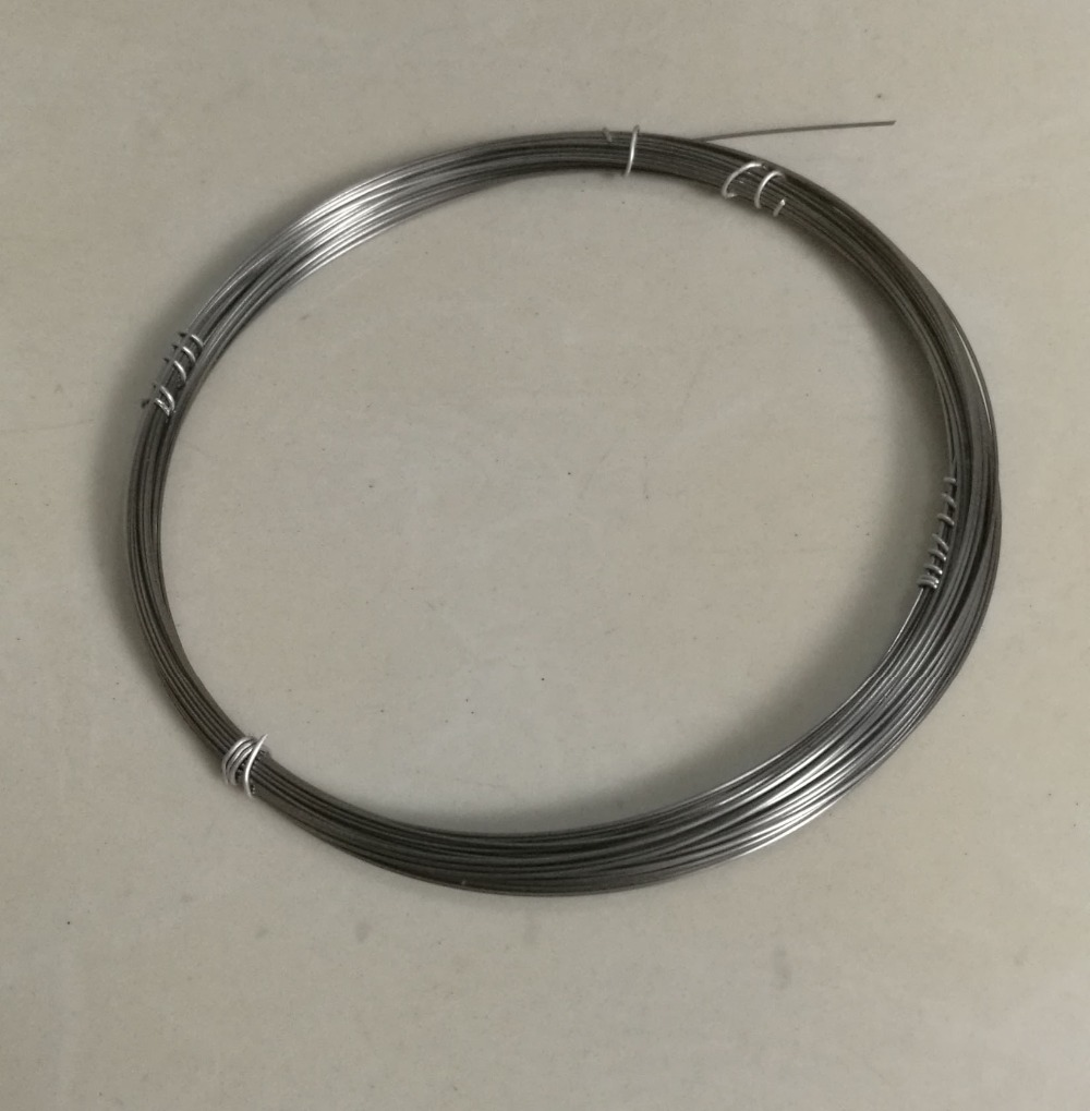 10m Purity 99.95/% Tungsten W Wire Diameter 0.5mm Black Vacuum Heating W Material