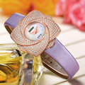 DOM brand women luxury  watches waterproof style quartz leather sapphire crystal watch  G637