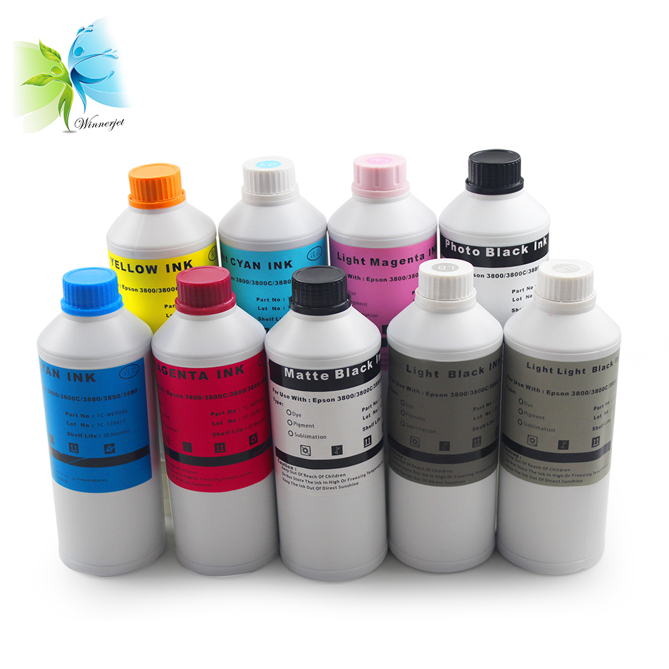 US $222 3 5% OFF|WINNERJET Sublimation Ink for Epson Stylus Pro 3800 3880  3800c 3890 3850 Printer-in Ink Refill Kits from Computer & Office on