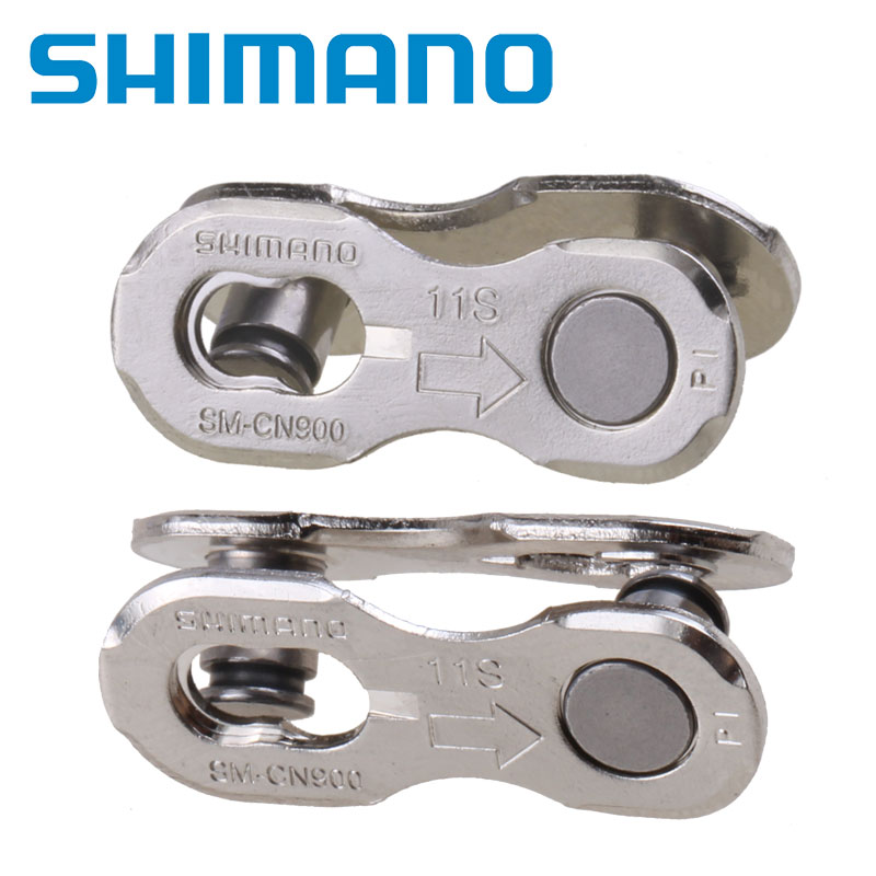 Shimano 11 Speed Quick-Link Connector SM-CN900 Silver 2 Pairs in Box