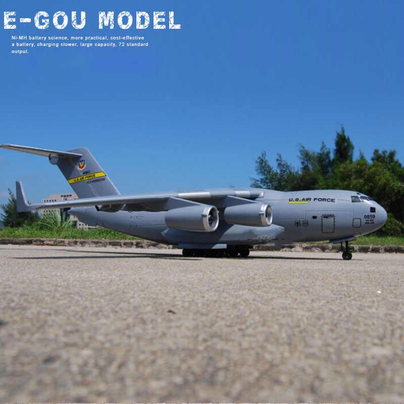 C-17 Transport duży RC samolot UAV 1470mm rozpiętość skrzydeł epo montaż anteny Survey samolot DIY RC samolot zestaw model RC
