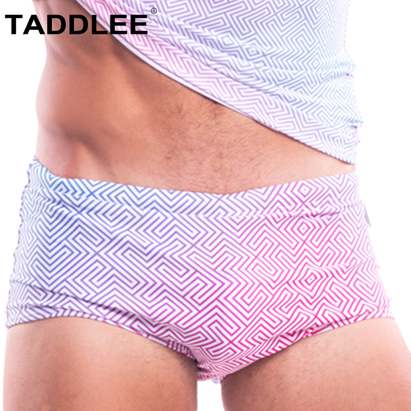 Taddlee Men's Swimwear Shorts Swimsuits Penis-Pouch Surfing-Trunks Briefs Bikini Boxer