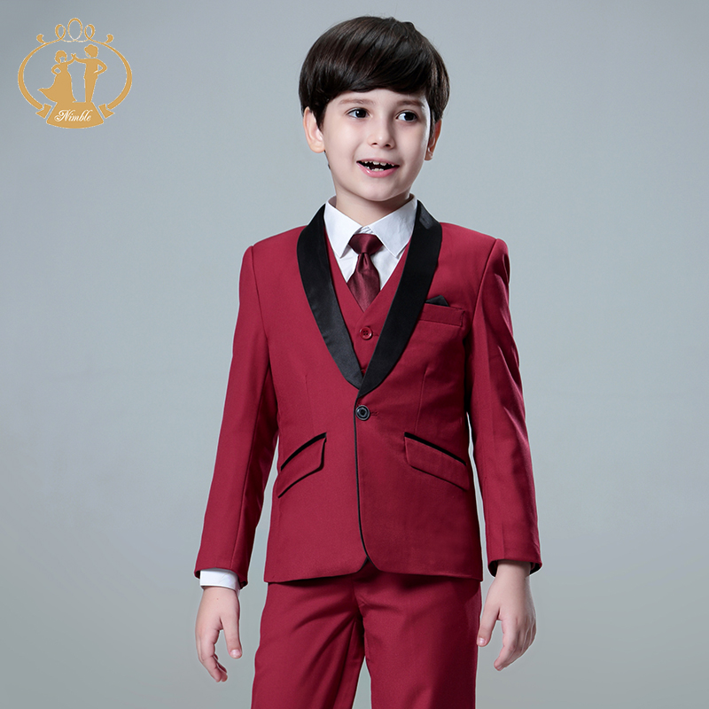 Boys Suits for Weddings Kids Prom Suits Wedding Suits Kids Blazers Boys Clothing Set Boy Formal