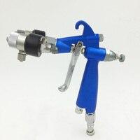 SAT1201 powder paint gun high pressure air gun chrome spray plating on car wheel painting spray gun