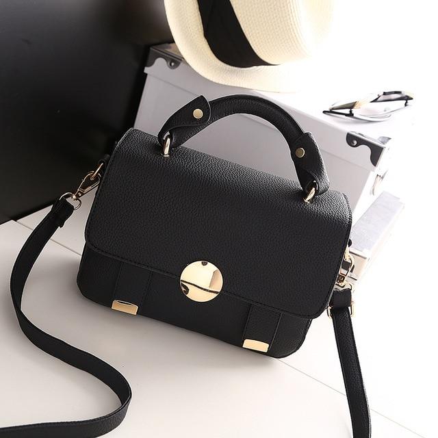 9cf603a76b 2018 Spring New Fashion Women Shoulder Bag Chain Strap Flap Designer  Handbags Clutch Bag Ladies Messenger Bags With Metal Buckle