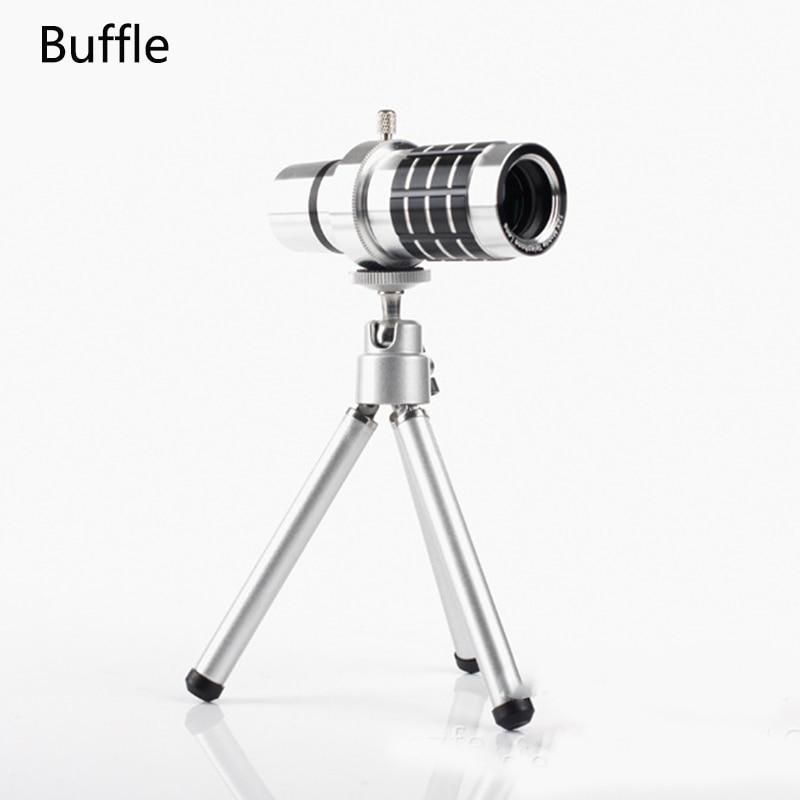 1Pcs High Quality aluminum Aolly 12X Round Telephoto LEN Telescope Camera