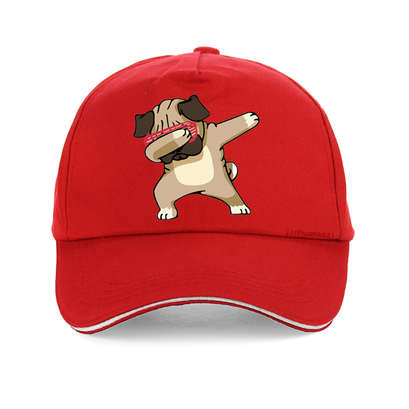 Casual Men cap adjustable Unisex Brand Dogs Animal cartoon Baseball cap Summer High Quality Hipster hip hop hat snapback in Men 39 s Baseball Caps from Apparel Accessories