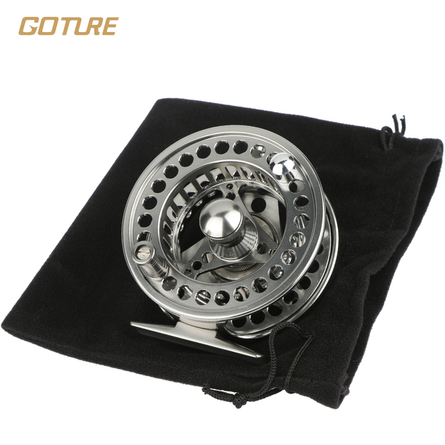 Goture Stainless Steel Fly Fishing Reel  2+1BB 1:1  5/6# 7/8# Fishing Reel Fishing Tackle