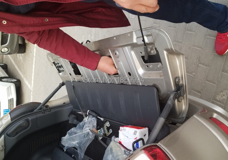 for 2009 2010 2011 2012 2013 2014 2015 2016 Renault Koleos first Generation tail trunk door lock block car auto accessories rear trunk trim tail door trim for subaru xv 2009 2010 2011 2012 2013 2014 abs chrome 1pc per set