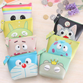 New Creative Cartoon Animation Coin Purse Cute Totoro Minions PU Children Zipper Change Purse Wallet Money Bag For Kids Gift