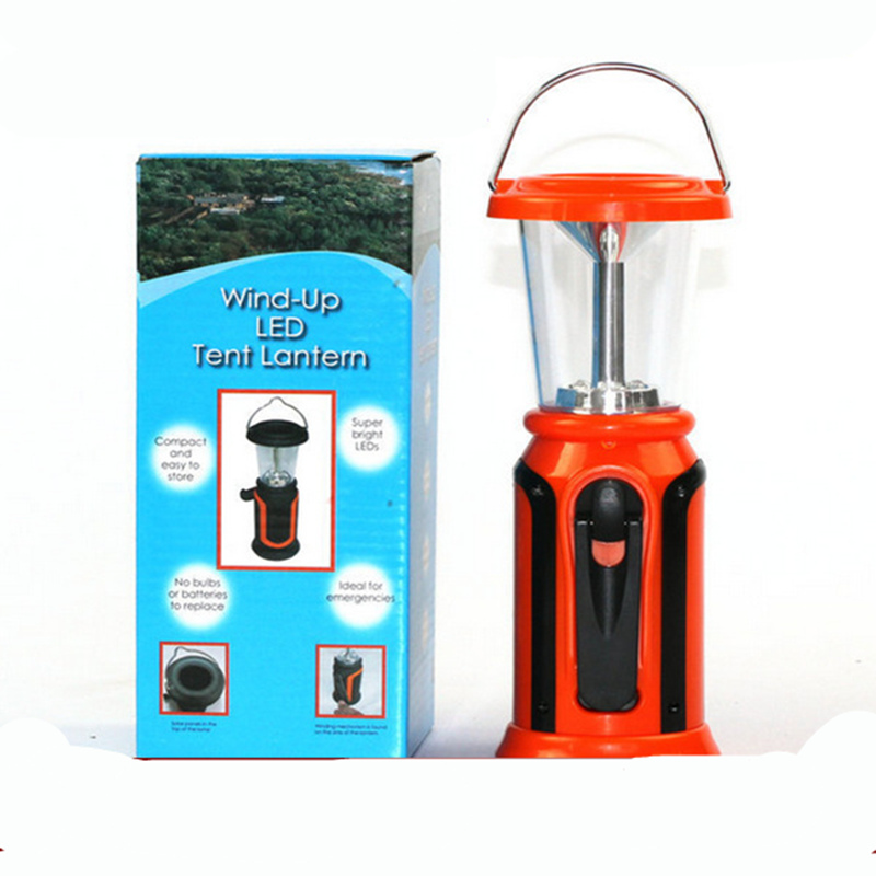 High Performance Brightness LED Solar Camping Light Orange Solar Generator Field Tent Ca ...