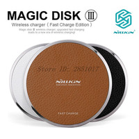 Nillkin Magic Disk Fast Edition Wireless Charger For IPhone SE 6 6S 7 Plus Xiaomi Huawei