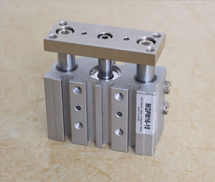 bore size 32mm*10mm stroke SMC Type MGP three shaft cylinder with magnet and slide bearing cxsm 32 70 smc festo type cxs series slide bearing double rod air cylinder with magnet cxsm32 70 cxsm32 70 cxsm 32 70 32x70