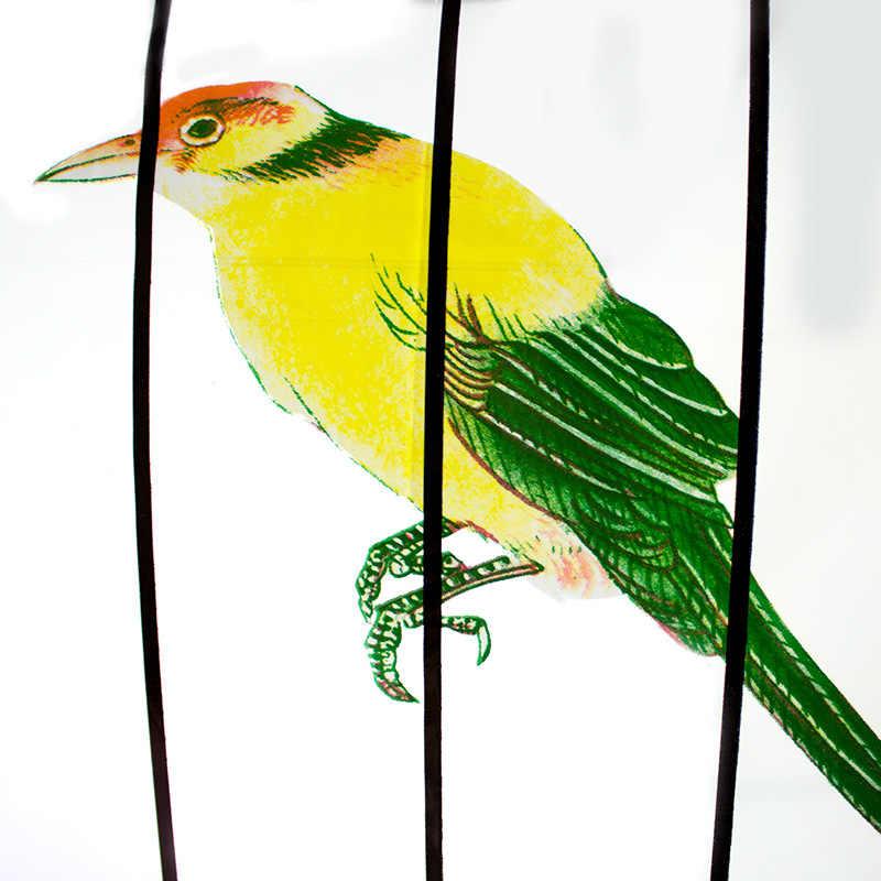 โปร่งใสร่มพับ Birdcage ร่มร่มโปร่งใสผู้ชายและผู้หญิงรุ่น Novelty Rain WZP247
