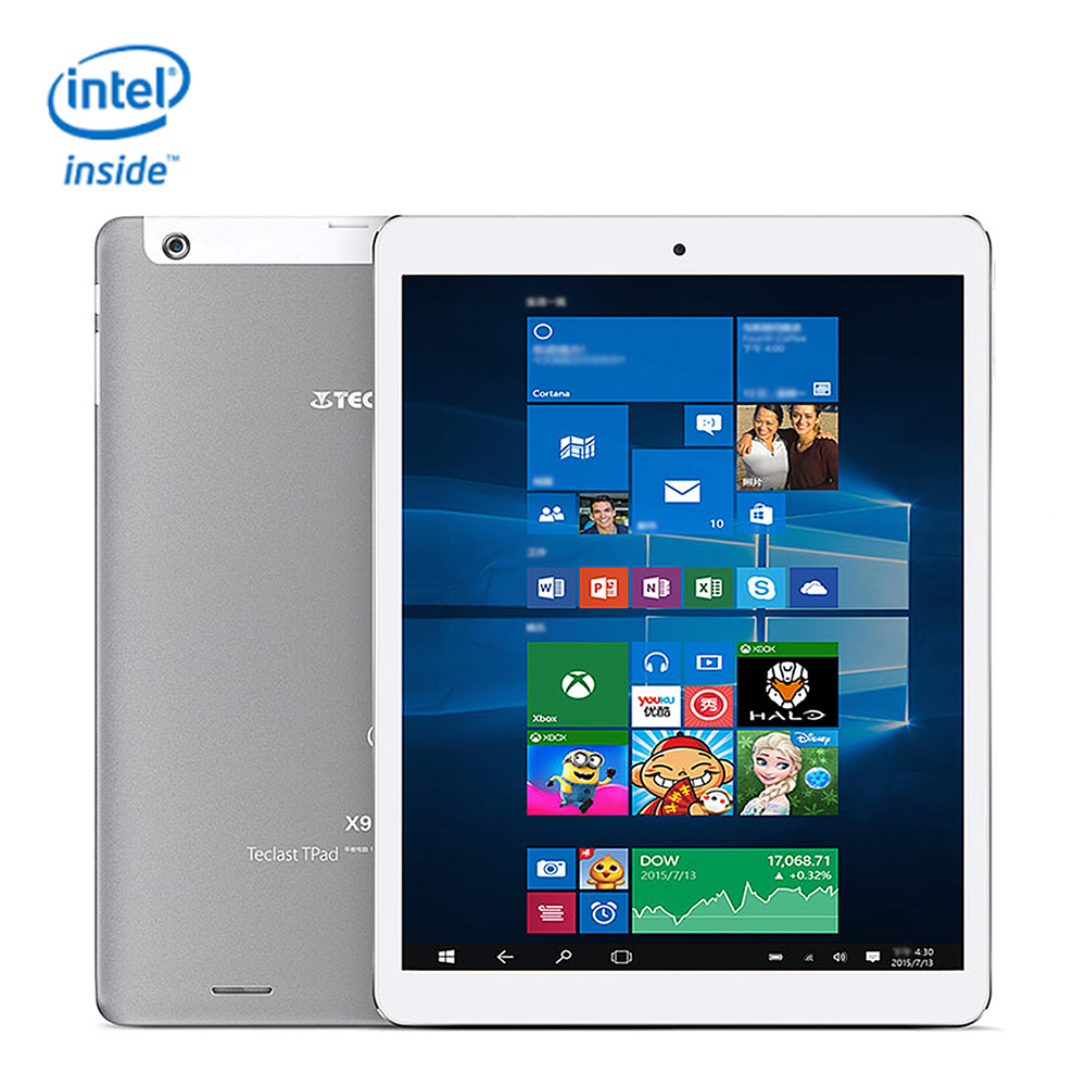 Teclast X98 Plus II 2in1 Tablets 9.7' Windows10 Android5.1 netbook 4GB/64GB Intel Cherry Trail Z8350 Bluetooth tablet android