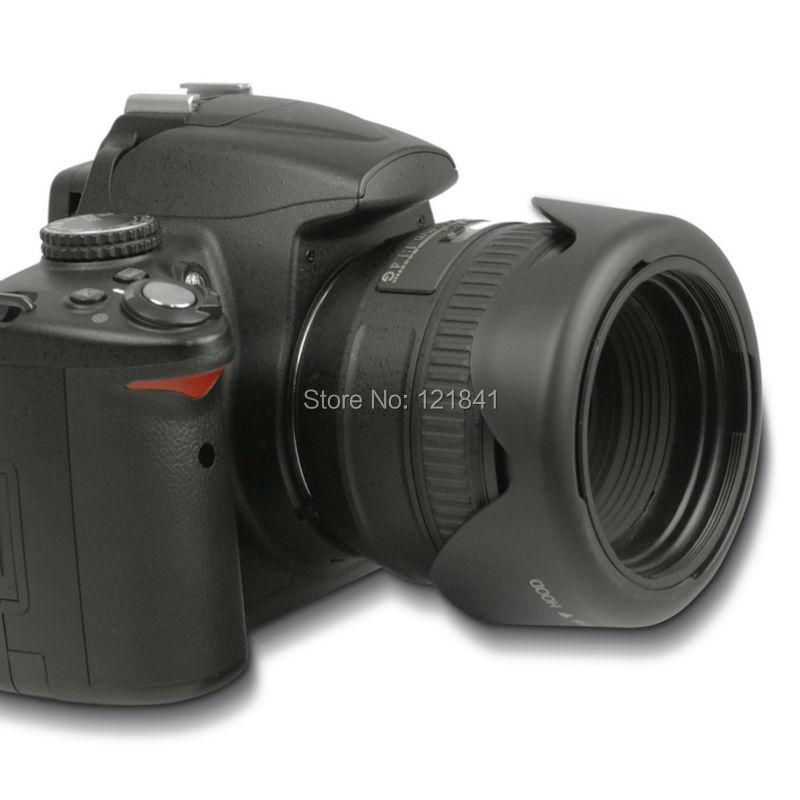 Yüksek Kalite 58 MM Canon kamera için Geri Dönüşümlü Petal - Kamera ve Fotoğraf - Fotoğraf 5