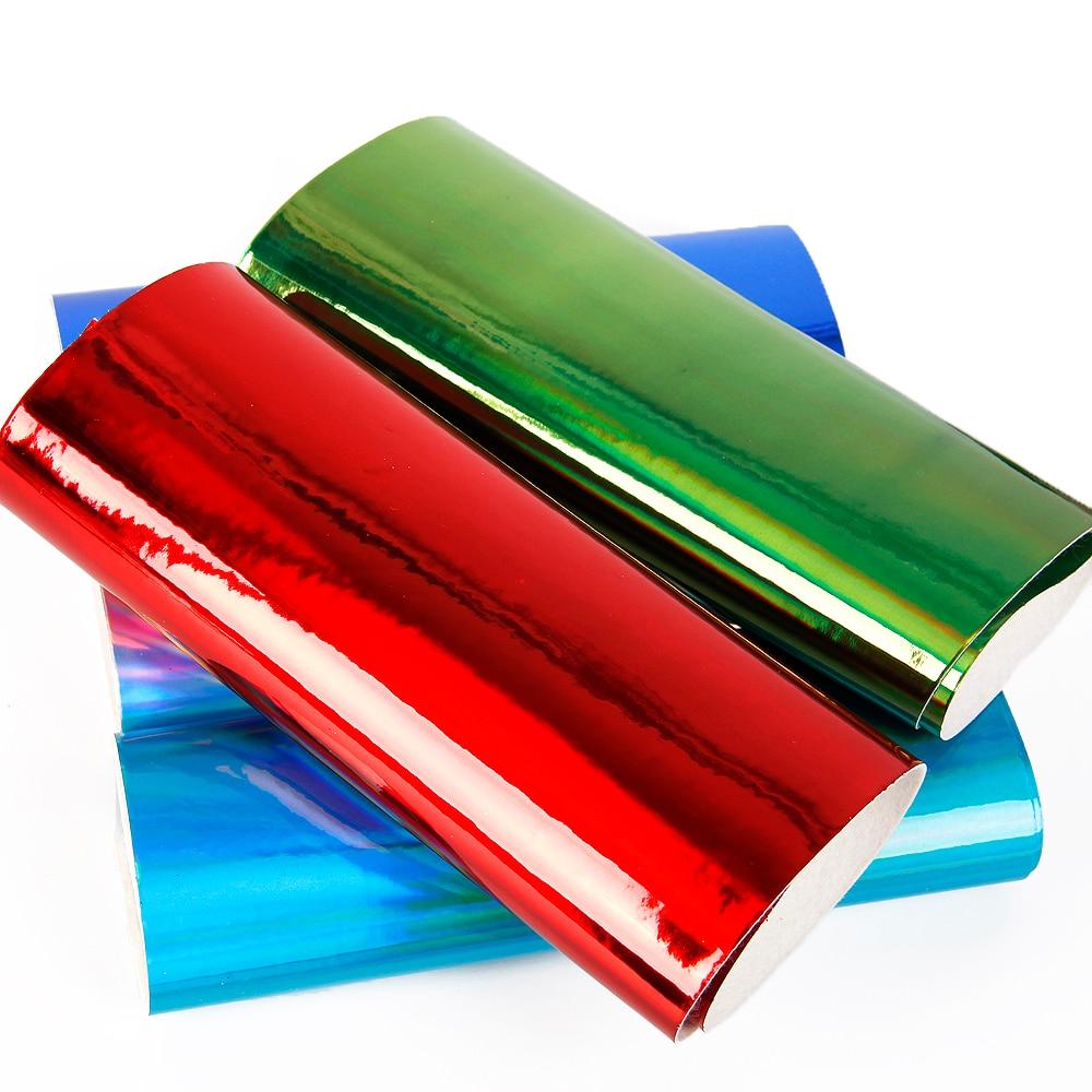 David accessories20 * 34 см Твердые зеркало блеск искусственная кожа ткань для шитья, искусственная Синтетическая Кожа Diy сумка материал, 56409