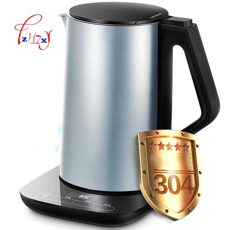 Intelligent WIFI Electric Kettle Hot Insulation In Stainless Steel 1.5L Electric Water Kettle Special Tea Pot WHE1507B 1PC