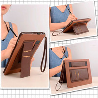 leather hand Leather Smart Case For Huawei MediaPad M5 10.8 Pro CMR-AL09 CMR-W09 10.8 inch Tablet Stand Cover Hand strap Storage pocket (4)