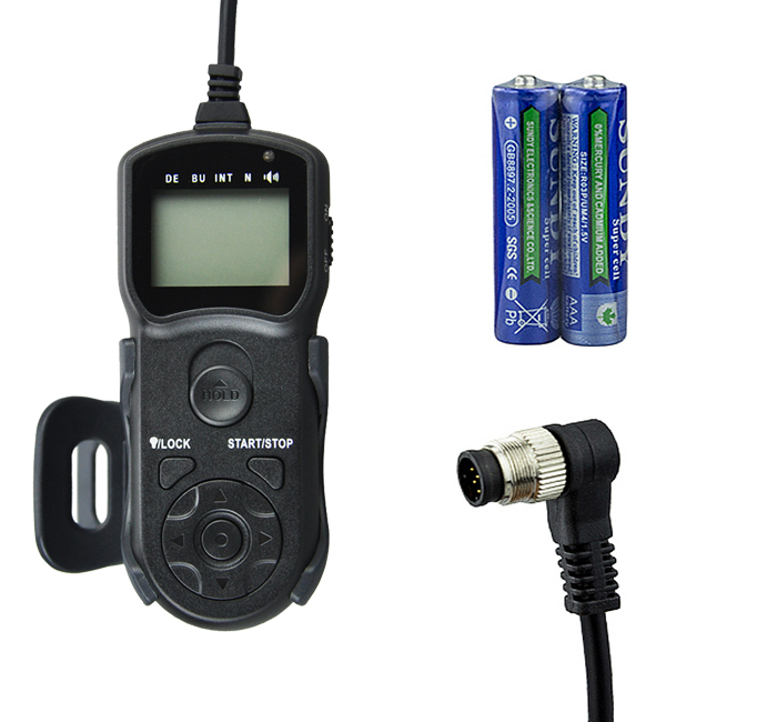 Jjc TM-B трехпроводной - функция жк-таймер пульт дистанционного управления для Nikon D810 D4s F5 D4 D800 D300s D3s D700 , как мс-30 / MC-36 / MC-30A