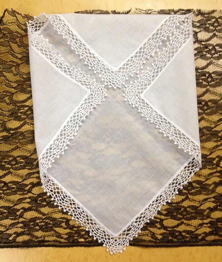 Set 12 Fashion Frauen Taschentücher Baumwolle Damen Taschentuch ...