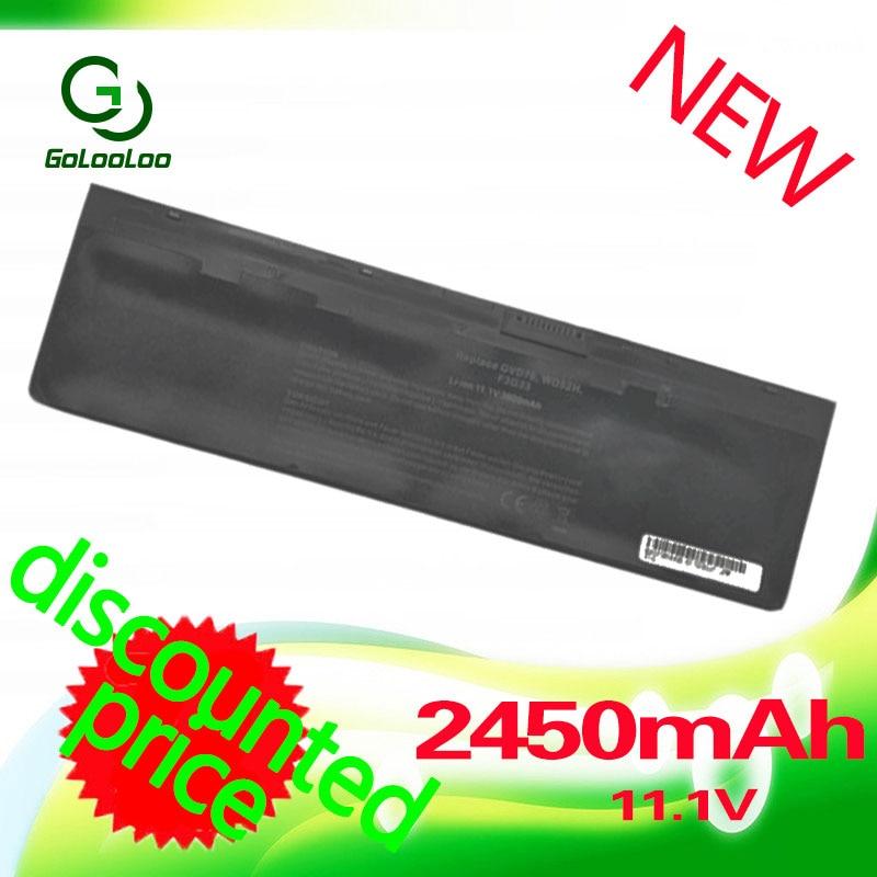 Golooloo 2450MAH Laptop Battery for Dell Latitude E7240 E7440 E7250 Series 51-BBFW WD52H KWFFN 0WD52H GVD76 J31N7 NCVF0 W57CV original new vfv59 laptop battery for dell latitude e7240 e7250 w57cv 0w57cv wd52h gvd76 vfv59 7 4v 52wh free 2 years warranty