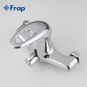 Image 5 - FRAP robinet de bain douche en laiton avec pomme de douche ABS, tuyau de sortie de 300mm chromé F2203 1 ensemble