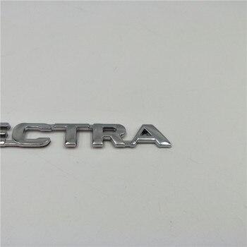 สำหรับ Chevrolet Chevy Opel Vectra 3D Emblem Badge รถจดหมายด้านหลังหมายเลขสติกเกอร์โลโก้