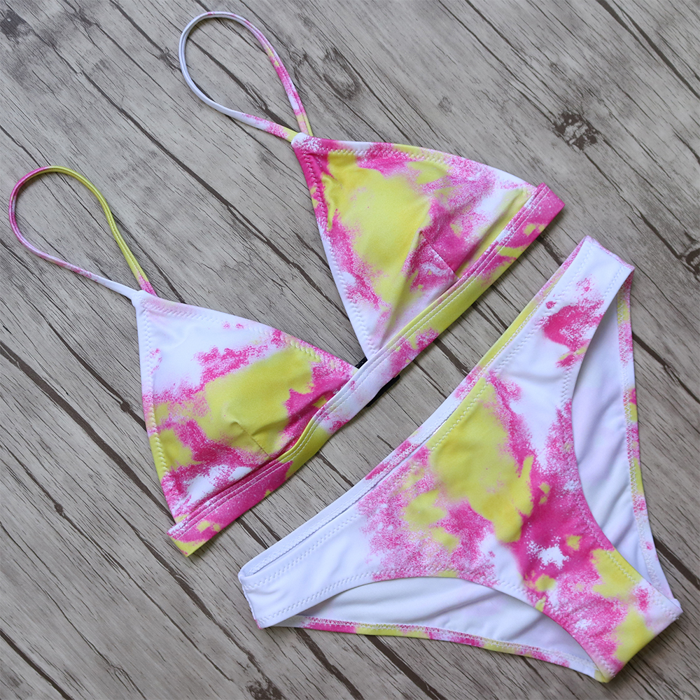 Bikini 2018 Bikinis Set Women Sexy Swimsuit Swimwear Brazilian Biquini Bandage Push Up Swimwear Female Beachwear Bathing Suit  4