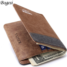 Wallet Purses Men Wallets Carteira Masculine Billeteras Porte Monnaie Monedero Famous Brand Male Men's Walet 2017 New Arrive