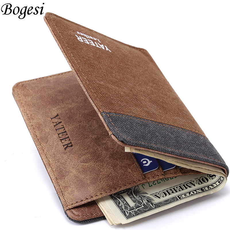 Wallet Purses Men Wallets Carteira Masculine Billeteras Porte Monnaie Monedero Famous Br ...